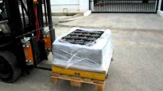 SEKO Forklift Scale Front to Rear Load Displacement Compensation