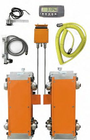 Model SK Cable Connectd Forklift Scale